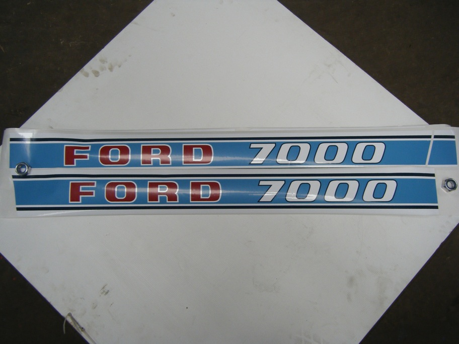 Ford 7000 Decal